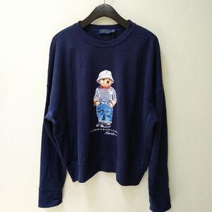 Polo Ralph Lauren Women's Polo Bear Sweatshirt, L
